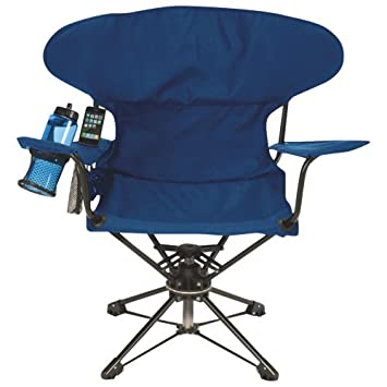 World Famous Swivel Chair With Speakers   Navy