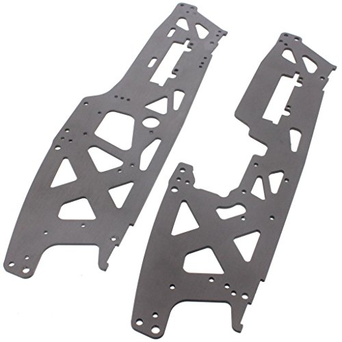 HPI 1/8 Savage XL Octane TVP CHASSIS, LEFT & RIGHT 3mm Twin Vertical (Tvp Chassis)