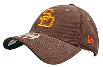 "San Diego Padres New Era MLB 9Forty ""Cooperstown Team Cord"" Adjustable Hat by New Era"