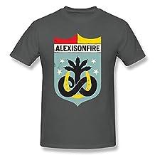 SFMY Men's Alexisonfire Logo T-Shirts XL DeepHeather