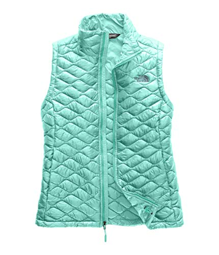 (The North Face Women's Thermoball Vest, Mint Blue, Size M)
