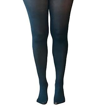 67382d6788b4f Essexee Legs Women's Plus Size Opaque Tights. EL528. 40DEN. 1 Pair. Teal