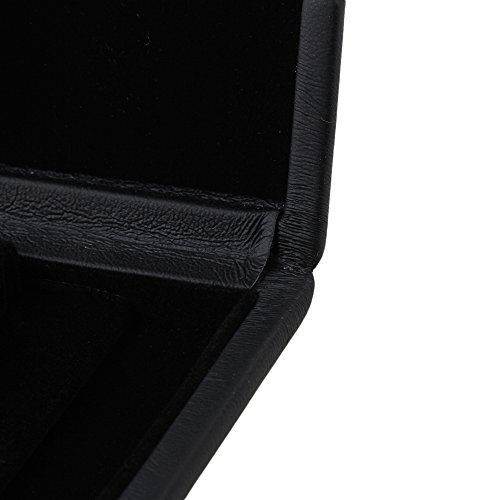 Yibuy Black Oboe Reed Case Holder Box PU leather For 6 Pieces of Reed 9.2 x 7.8x 2cm by Yibuy Sax Reeds/Case (Image #5)