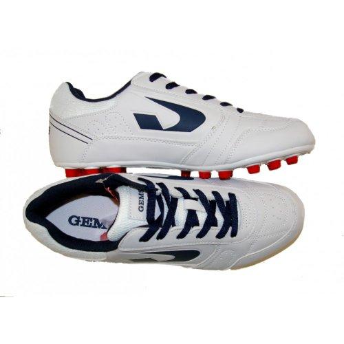 Gems , Herren Futsalschuhe Weiß white-blue
