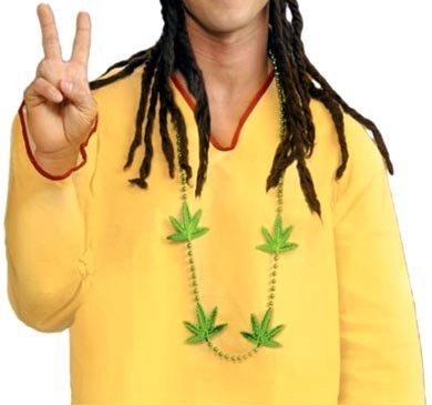 Marijuana Party Beads