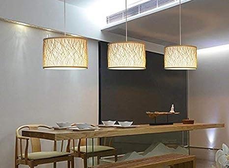 MJY Candelabros de madera, luminarias de salón de restaurante ...