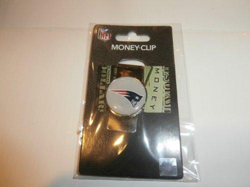 (NFL Sports Team Raised Dome Logo Money Clip (New England)