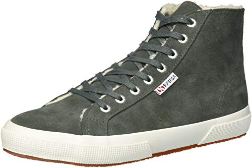 Superga Women 2795 Suefurw Sneaker Dark Grey
