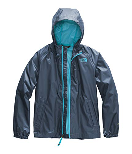 The North Face Kids Boy's Zipline Rain Jacket (Little Kids/Big Kids) Shady Blue ()