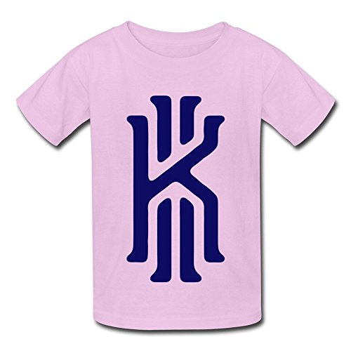 Kids Boys Girls T Shirt Kyrie Irving 2K Logo Pink Size L (Kitchenaid Mixer Bolt compare prices)