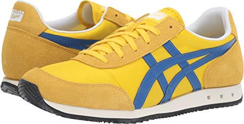 (Onitsuka Tiger Unisex New York 1183A205 Tai-Chi Yellow/Imperial Walking Shoe - 12)