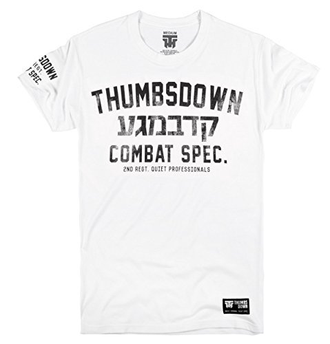 Thumbsdown Pulgares Down Krav Maga Camiseta Combat Descripción Quiet Professionals. MMA. Gimnasio Entrenamiento. Ropa… YOaz8w
