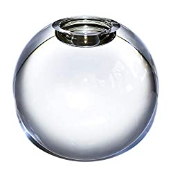 Large Crystal Ball Candle Holder