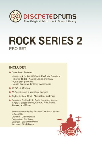 Discrete Drums Rock Series 2 Pro Set - Discrete Drums Series