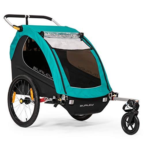 Burley Encore X, 2 Seat Kids Bike Trailer & Stroller ()