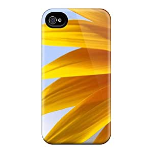 Cute Tpu Chenzong Big Yellow Sunflower Case Cover For Iphone 4/4s