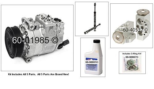 New AC Compressor & Clutch With Complete A/C Repair Kit For VW Volkswagen Passat - BuyAutoParts 60-80382RK New (Vw Passat Ac Compressor compare prices)