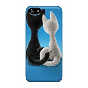 Hot Tpye Two Loving Hearts Case Cover For Iphone 5/5s