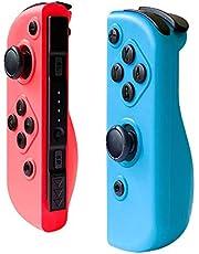Bluetooth Gamepad afstandsbediening Joystick NS Links en Rechts Grip met Vibratie Functie, Gyroscoop, voor NS Switch Joy-Con