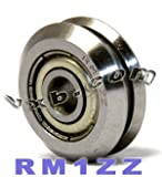 RM1ZZ 3/16 V Groove Guide Bearing Shielded Ball Bearings