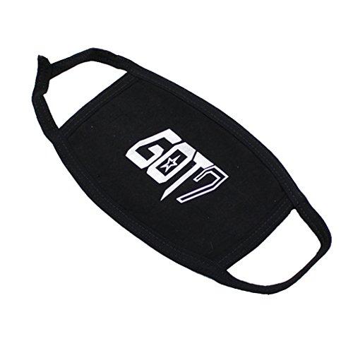 KPOP GOT7 Same Style Mouth Mask Youngjae BamBam Mark Jackson Face Respirator (Kpop Costume For Male)