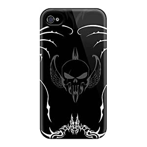 Awesome Case Cover/iphone 4/4s Defender Case Cover(flying Skull)