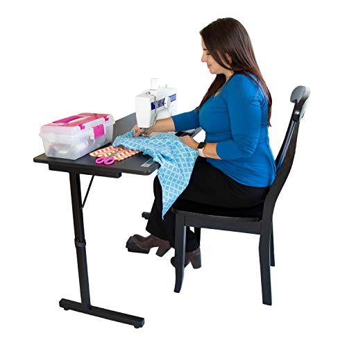 SewingRite 101 SewStation Sewing Craft Table - Black