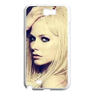Custom Avril Lavigne Hard Back Cover Case for Samsung Galaxy Note 2 NT263