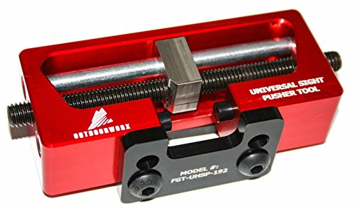 Best Price! Universal Sight Pusher Tool for Handguns- Easily Remove/Install Gun Sights for 1911, Glo...
