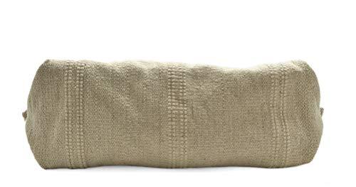 Coton X Sac In Naturel Lanières Italy h Brut Cabas l Vachette Cuir Avec 52 16 Franges Femme Grand 30 Cm Made wtxpqOUdp
