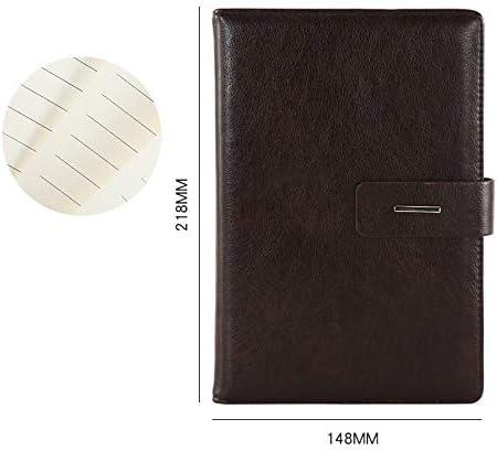 Notebook-A5 Business Leder High-End Notizblock Kaffee A5