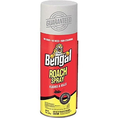 Bengal Chemical 92465 Roach II, 9 oz (Home Remedies To Get Rid Of Silverfish Bugs)