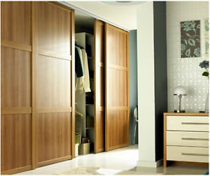 Sliding Wardrobe Glass Doors (Shaker)   Custom Made To Measure U0026 High  Quality