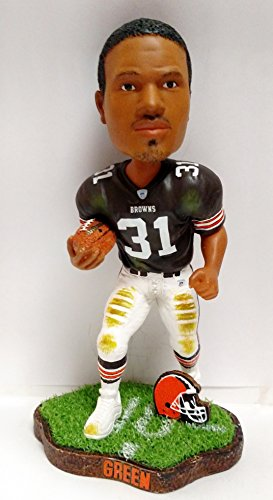 Cleveland Browns William Green Game Worn Series Bobblehead -