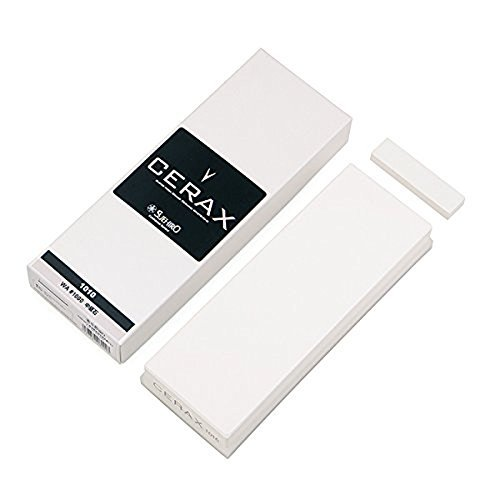 Suehiro CERAX soaking whetstone: Medium #1000, CERAX 1010: Ceramic sharpening stone, 8.07 x 2.87 x 1.14