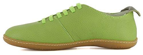 Naturalista El Soft Zapatillas Grain Green Viajero El Verde Mujer p4WngW