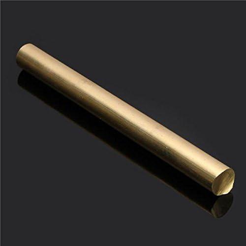 100X10mm EsportsMJJ 10 mm Diam/ètre 100//200//330//500 mm Rond Tube Circulaire en Laiton