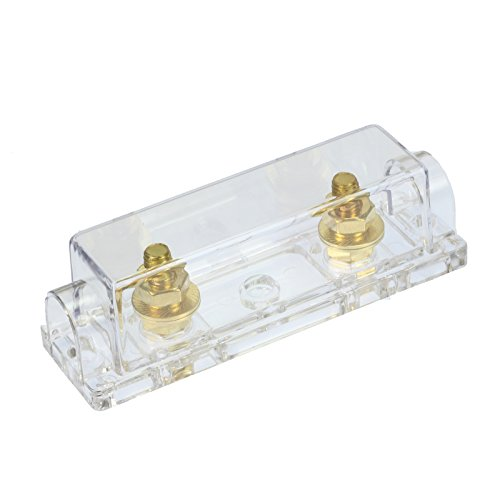 Voodoo 0/2/4 Gauge Ga ANL Fuse Holder + 500 Amp ANL Fuses (2 Pack) by VOODOO (Image #2)