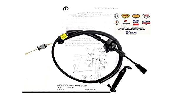 New Diesel Accelerator Throttle Cable For Dodge Ram 2500 3500 2000 2001 2002