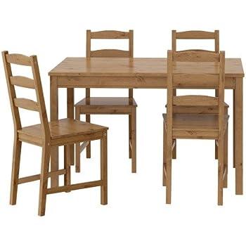 Amazon - Winsome Groveland -Piece Wood Dining Set Light Oak