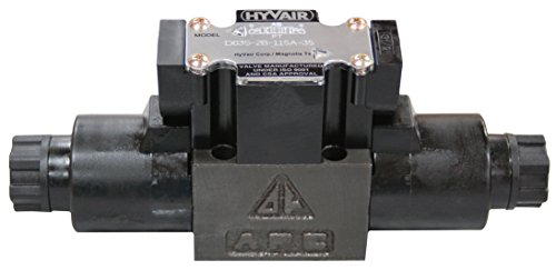 D03 (3 Position Spring Center Closed): Parallel, 20 GPM, 115V AC, 220302