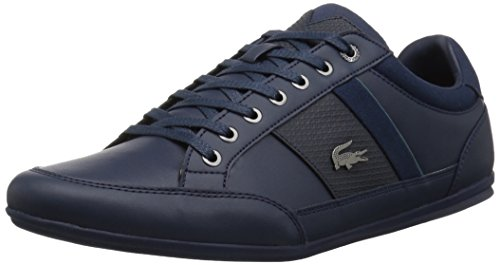 Lacoste Baskets Homme Chaymon Nvy / Vert Synthétique