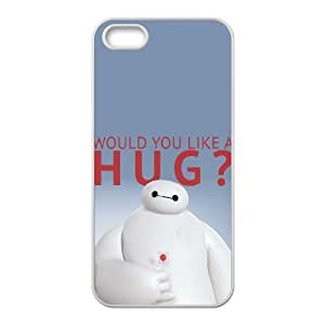 C-EUR Diy case Baymax 2 customized Hard Plastic Case For iPhone 5,5S [Pattern-5]