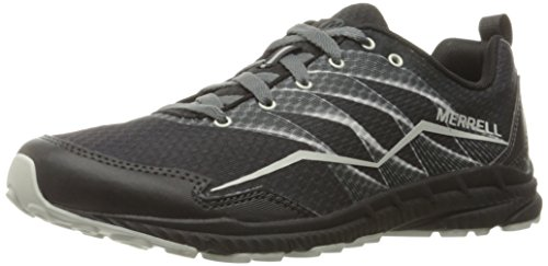 Merrell Women's Trail Crusher Trail Running Shoe, Granite/Black, 8 M US Merrell Athletic Shoes