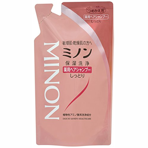 Japan Health and Personal Care - Daiichi Sankyo Healthcare Minon medicated hair shampoo 380mL (refill) *AF27* ()
