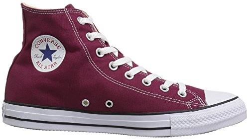 Uppers High top Casual Durable Classic Canvas Style Maroon And Sneakers All In Color Chuck star Taylor Converse Unisex X60waYqn4