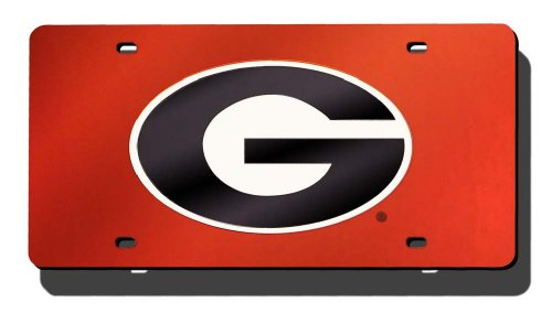 Car Auto Tag (NCAA Georgia Bulldogs Bulldogs Laser-Cut Auto)