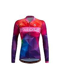 Uriah Women's Cycling Jersey Thermal Fleece Long Sleeve Reflective