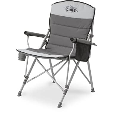 CORE Padded Hard Arm Chair with Carry Bag