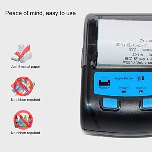 Impresora térmica de 58 mm, Etiquetas Autoadhesivas Soporte de ...